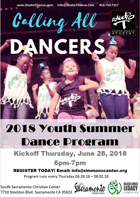 2018 Youth Summer Dance Program Black Child Legacy Campaign (BCLC)