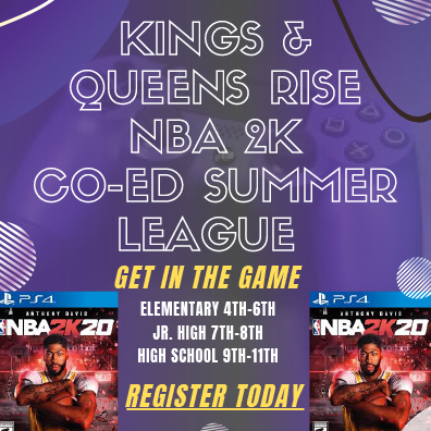 Kings and Queens Rise NBA 2K and The First Tee Golf Opportunities